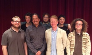Mendel Lee and Maxwell Dulaney with Ensemble Pamplemousse
